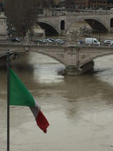 Tiber River from Ponte Sante'Angelo